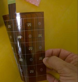 Crocus MRAM-based flexible display sensor photo
