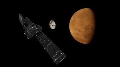 ExoMars Trace Gas Orbiter 2016
