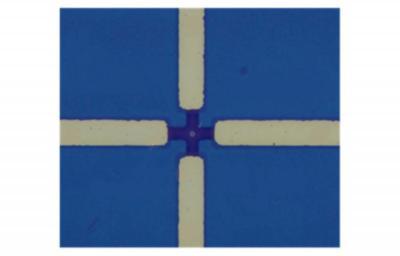Antiferromagnetic STT-MRAM device structure (4-micrometer pillar, Northwestern University)