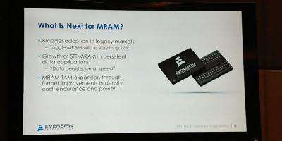 What is next for MRAM - Everspin slide (Aug 2018)