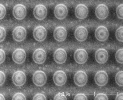 Toshiba Hynix 4Gb STT-MRAM mTJ array photo