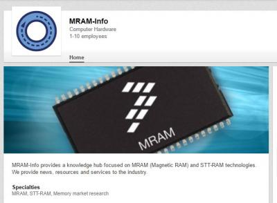 MRAM-Info linkedin page photo